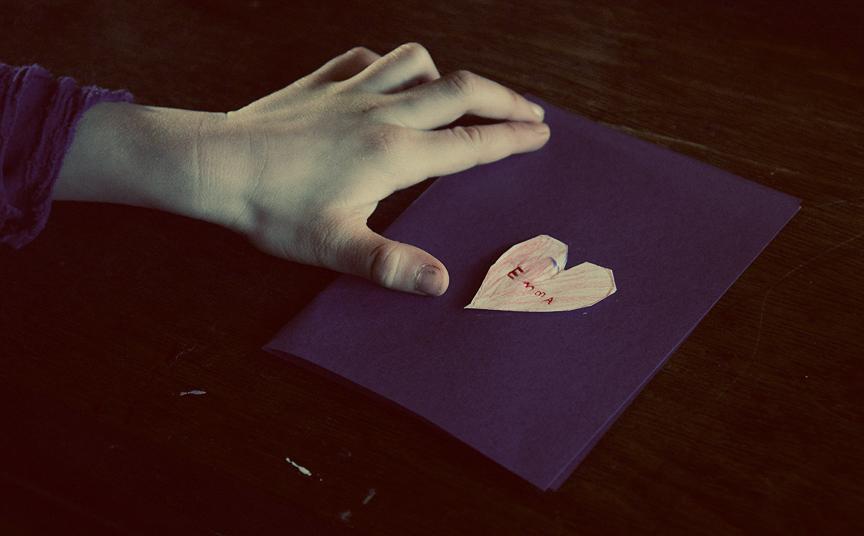 violets valentine