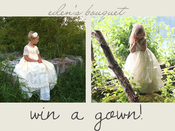 eden's bouquet win a gown
