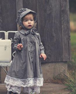 ingride gray dress